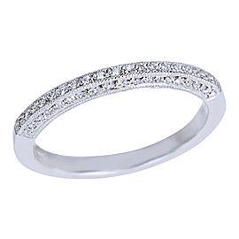 Tacori Platinum Diamond Rings Size 4