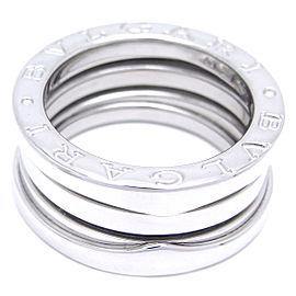 Bulgari Bzero.1 18K White Gold Ring Size 4.75