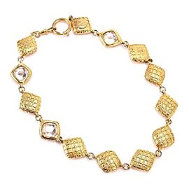Chanel Gold Tone Vintage Necklace
