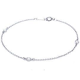 Tiffany & Co. Elsa Peretti Diamonds by the Yard Platinum Bracelet