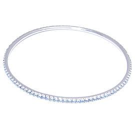 Tiffany & Co. 18K WG Aquamarine Bracelet