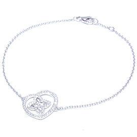 Louis Vuitton WG Diamond Heart Motif Bracelet