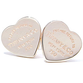 Tiffany & Co. Return To Tiffany Mini Heart Tag 18k Rose Gold Earrings