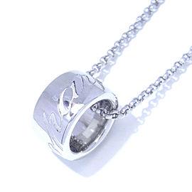 Chopard Chopardissimo 18K White Gold Pendant Necklace