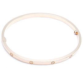 Cartier RG Love Bracelet (SM) Size 18