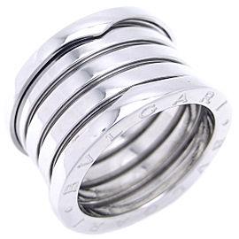 Bulgari Bzero.1 18K White Gold Ring Size 6.75
