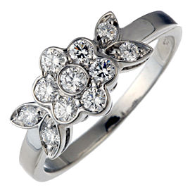 Tiffany & Co. Blossom Diamond Platinum Ring Size 5.75