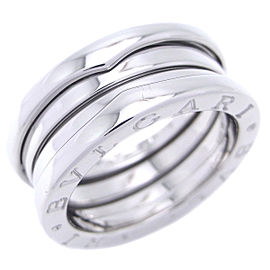 Bulgari B-Zero 18k White Gold Ring Size 5.75