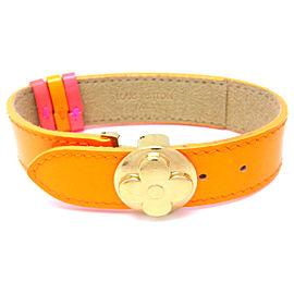 Louis Vuitton Leather Good Luck Bracelet