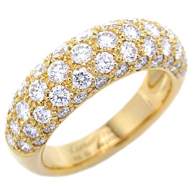 Cartier Mimi Star Ring 18k Yellow Gold Diamond Size 4.5