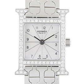 Hermes H HH1.130.212.4835 17mm Womens Watch
