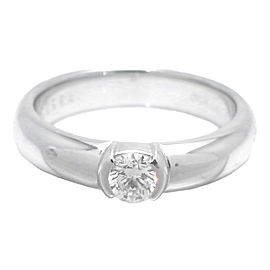 Tiffany & Co. Dots Diamond Platinum Ring Size 4.75