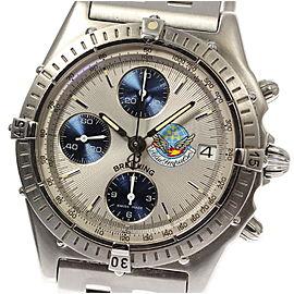 Breitling Chronomat Blue Impulse A13048 39mm Mens Watch