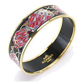 Hermes Emaiyu Enamel Bangle Bracelet