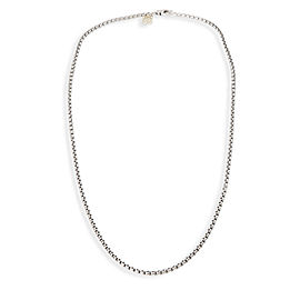David Yurman 14K Yellow Gold Sterling Silver Necklace