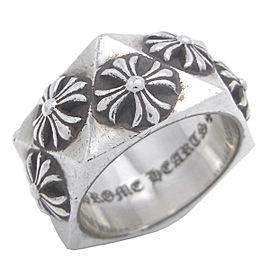 Chrome Hearts Sterling Silver Ring Size 8