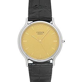 Seiko Credor GCAR051 8J81-6A30 32mm Mens Watch