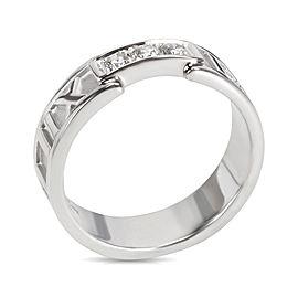 Tiffany & Co. 18K White Gold Diamond Ring Size 7