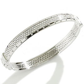 Louis Vuitton 18 WG Diamond Bracelet Size 15