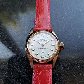 Rolex Oyster Perpetual 6509 Vintage 25mm Womens Watch