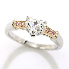Harry Winston 18K Diamond Ring Size 4.75