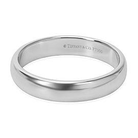 Tiffany & Co. Platinum Wedding Ring Size 8