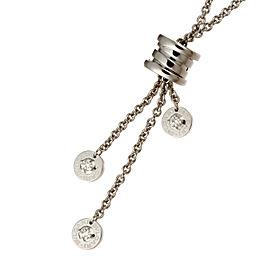 Bulgari WG B-Zero1 Diamond Pendant Necklace