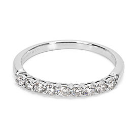 Tiffany & Co. Platinum Diamond Ring Size 6.25