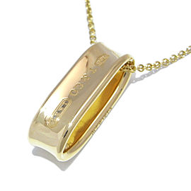 Tiffany & Co. Yellow Gold 1837 Pendant Necklace