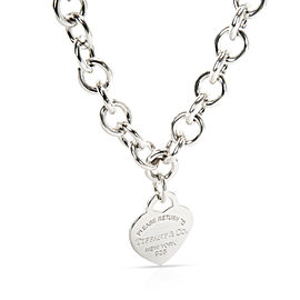 Tiffany & Co. Return to TIffany Sterling Silver Necklace