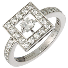 Boucheron WG Diamond Ring Size 5.75