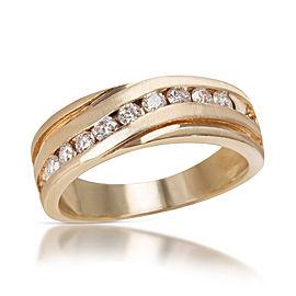 Diamond Ring in 10K Yellow Gold (0.50 CTW)