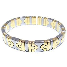 Bulgari White Gold, Yellow Gold Parentesi Bracelet