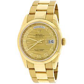 Rolex Day-Date 118238 36mm Unisex Watch