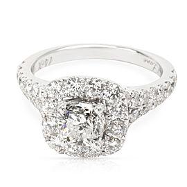 Neil Lane 14K White Gold Diamond Engagement Ring Size 5.75