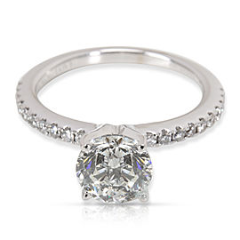 Vera Wang 14K White Gold Diamond Engagement Ring Size 5.5