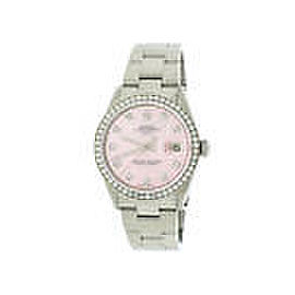 Rolex Oyster Perpetual 34mm Womens Watch