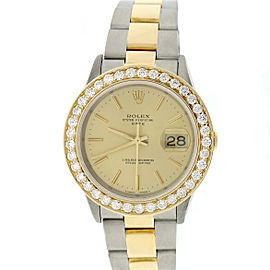 Rolex Date 15223 34mm Unisex Watch