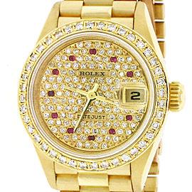Rolex President Datejust 69178 26mm Womens Watch