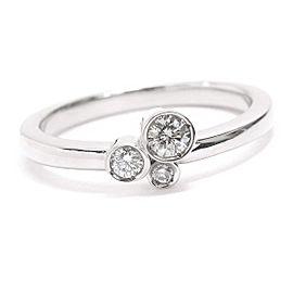 Ponte Vecchio 18K WG Diamond Ring Size 5