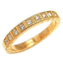Chopard Yellow Gold Diamond Ring Size 4