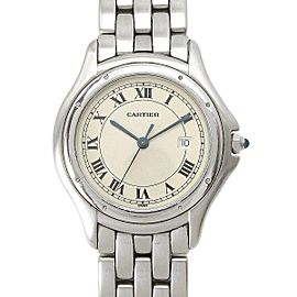 Cartier Panthere Cougar 33mm Mens Watch