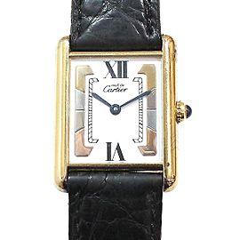 Cartier Tank Vermeil Trinity 23mm Womens Watch