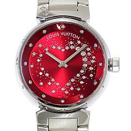 Louis Vuitton Tambour Q1322 43mm Womens Watch