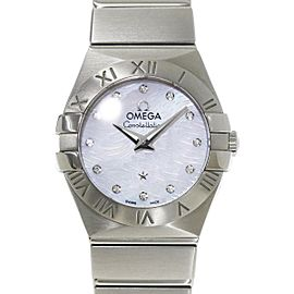 Omega Constellation 123.10.24.60.55.004 24mm Womens Watch