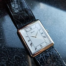 Piaget Rectangle A L'Ancienne 9150 23mm Mens Watch