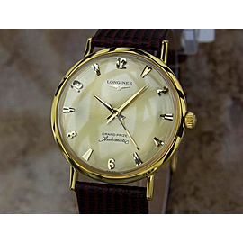 Longines Grand Prize Vintage 33mm Mens Watch