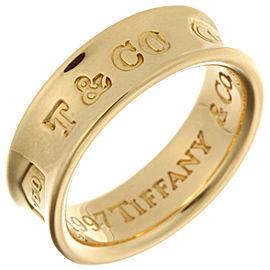 Tiffany & Co. Yellow Gold 1837 Narrow Ring Size 5.25