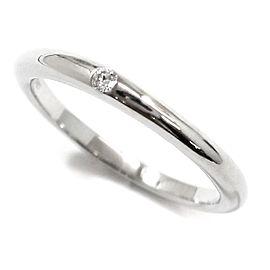 Bulgari Platinum FEDI Diamond Ring Size 4