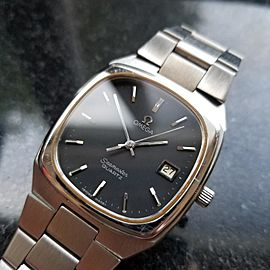 Omega Seamaster Accuset ST196.0130 Vintage 35mm Mens Watch